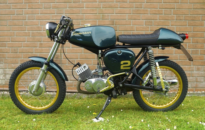 Simson S50b Cafe Racer Bikerszene